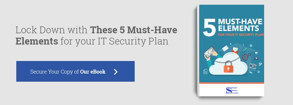 5 must-have elements for your security plan eBook